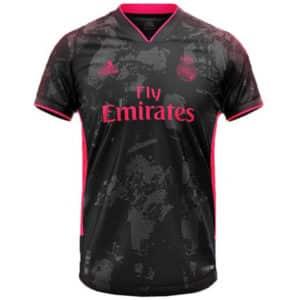camiseta real madrid tercera equipacion 2021