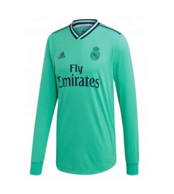 camiseta 3 equipacion manga larga real madrid 2020