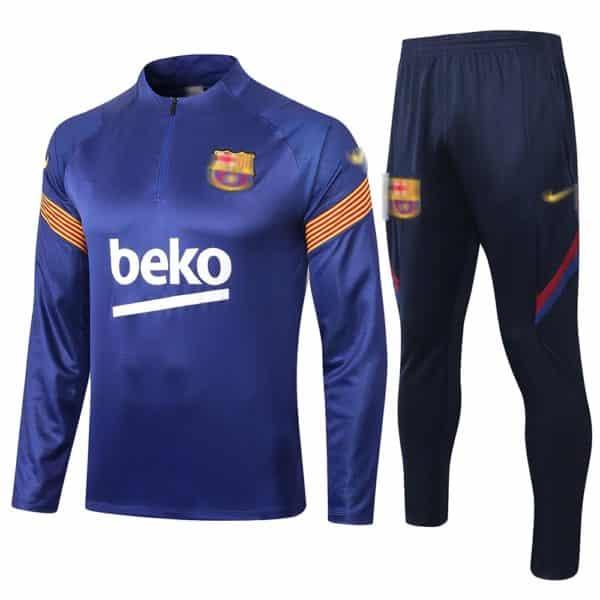 camiseta entrenamiento manga larga barcelona 2021