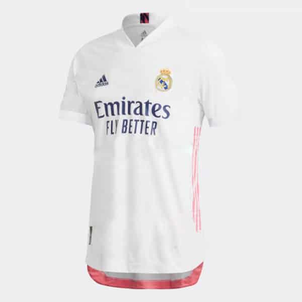 camiseta version jugador real madrid 2021