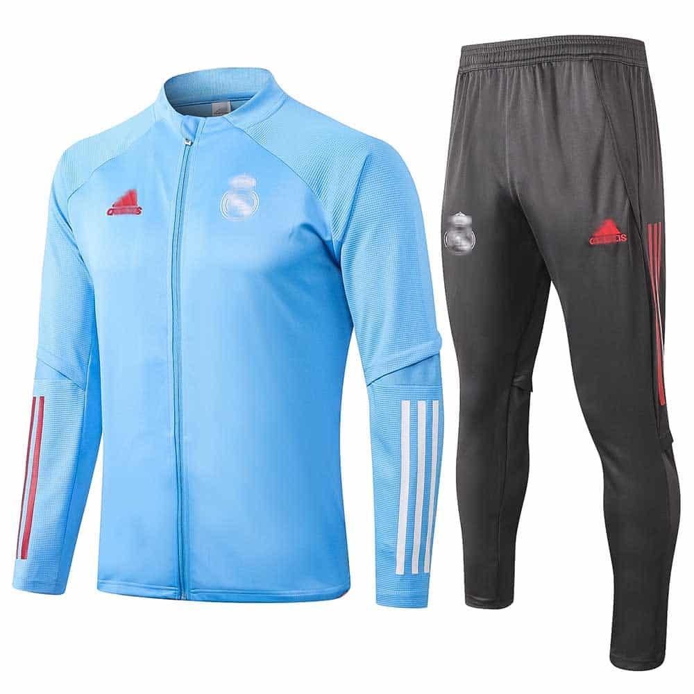 Chándal Re Madrid Azul 2021 La Web Nº1 De Camisetas De Fútbol