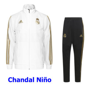 chandal niño real madrid blanco