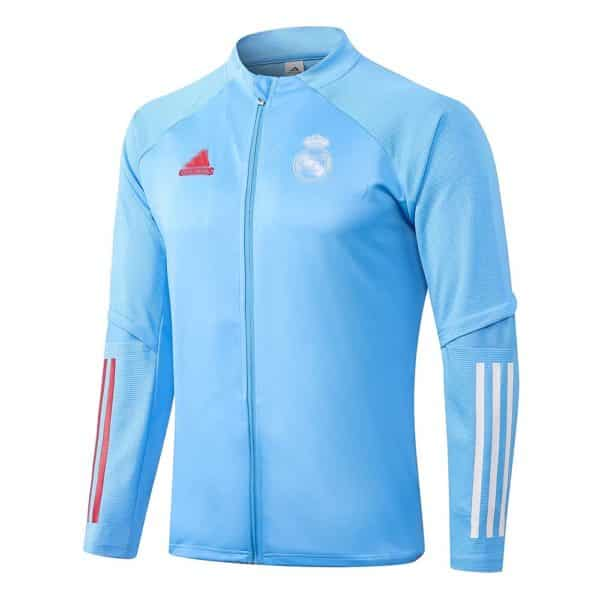 chaqueta azul real madrid 2021