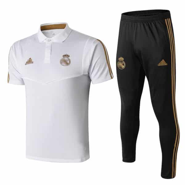 polo real madrid con pantalon