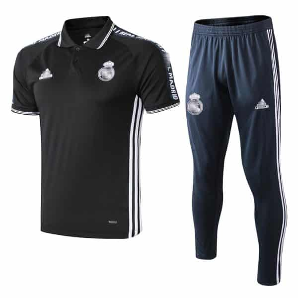 polo real madrid negro barato