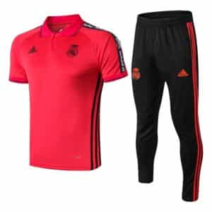 polo real madrid rojo