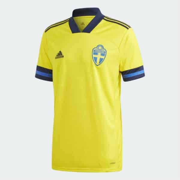 camiseta suecia 2020-barata