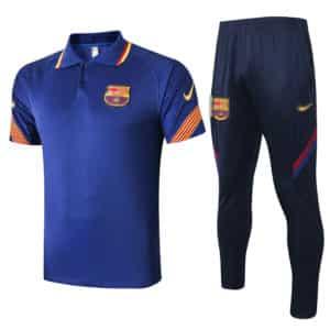 polo azul mas pantalon barcelona