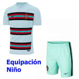 2 equipacion niño portugal 2020