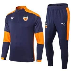 Chándal Negro Valencia 2021