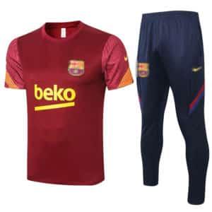 camiseta mas pantalon entrenamiento barcelona