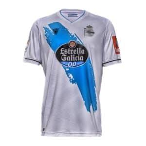 camiseta 2 equipacion deportivo de la coruña 2021