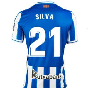 camiseta david silva real sociedad
