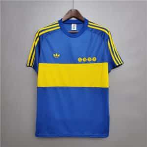 camiseta boca 1981 maradona
