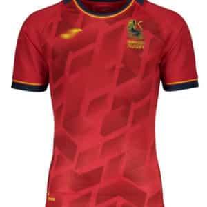 camiseta españa rugby roja