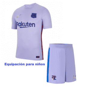 barcelona niños away 2022
