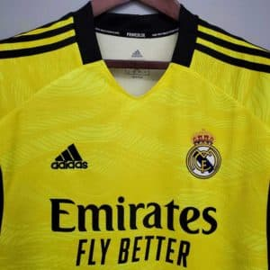 camiseta amarilla real madrid
