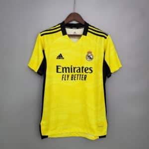 camiseta real madrid portero 2022