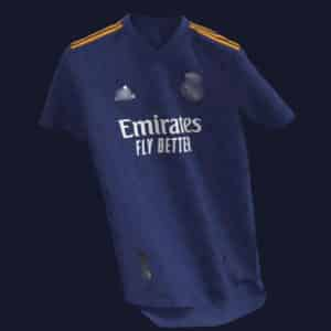 camiseta real madrid 2022 visitante replica barata