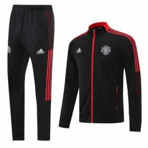 chandal Manchester united negro 2022 (1)